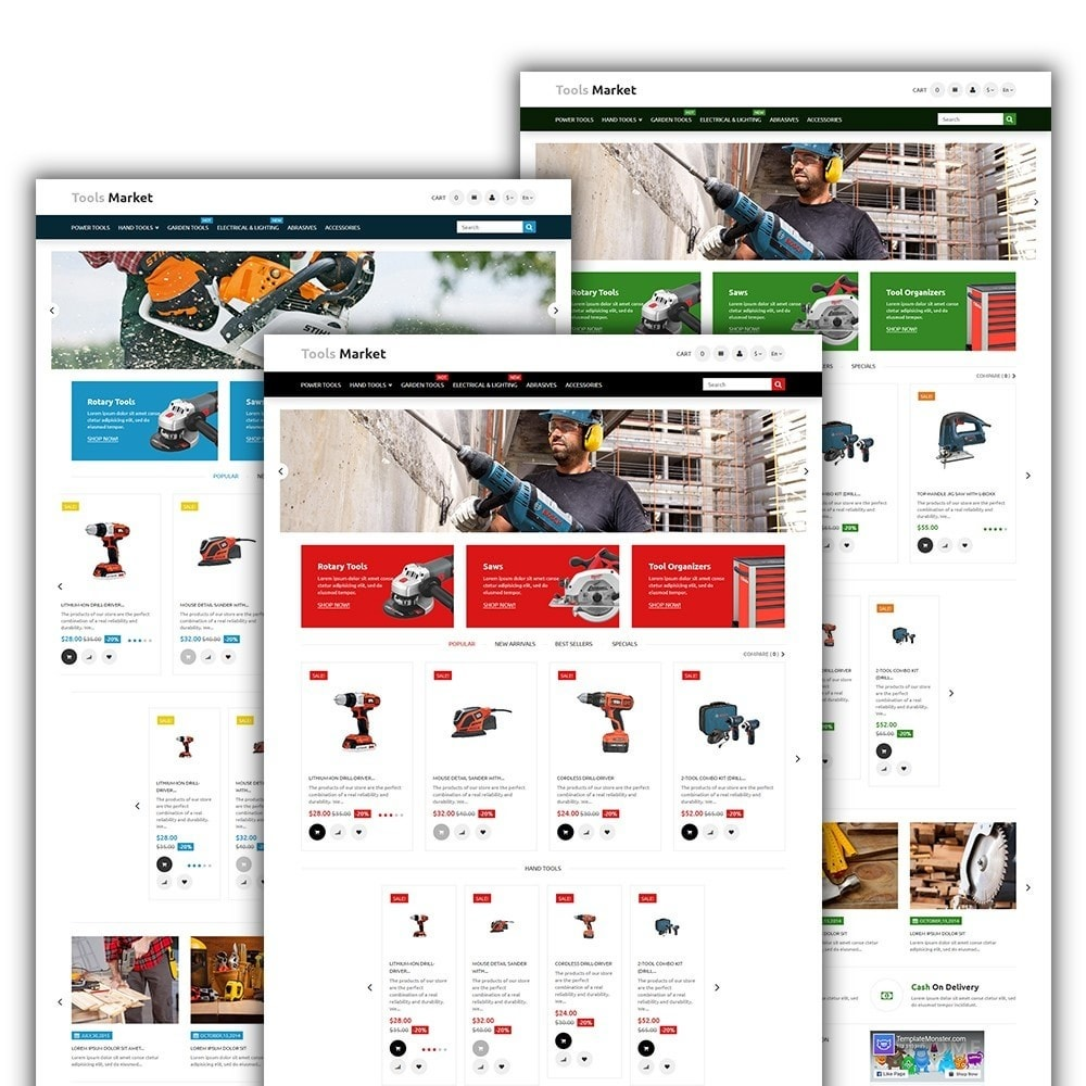 theme - Huis & Buitenleven - Tools Market - Home Repairs Template - 2
