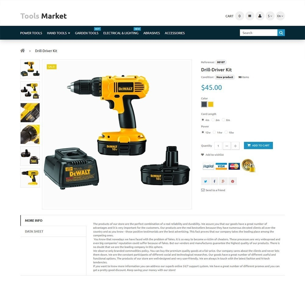 theme - Dom & Ogród - Tools Market - Home Repairs Template - 3