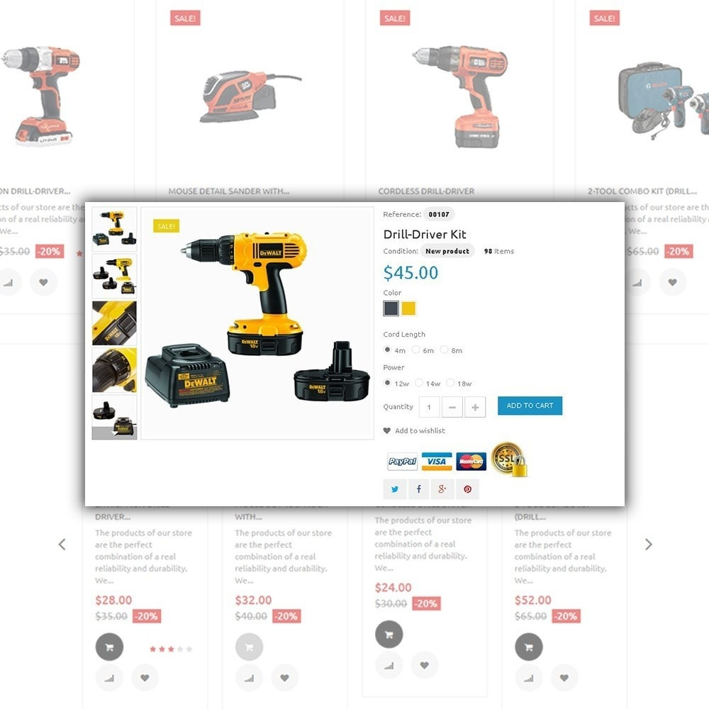 theme - Dom & Ogród - Tools Market - Home Repairs Template - 4