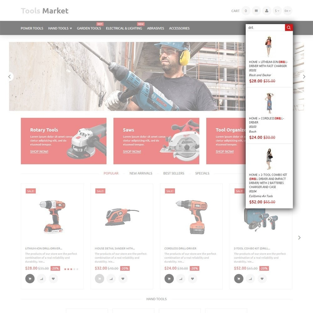 theme - Huis & Buitenleven - Tools Market - Home Repairs Template - 6