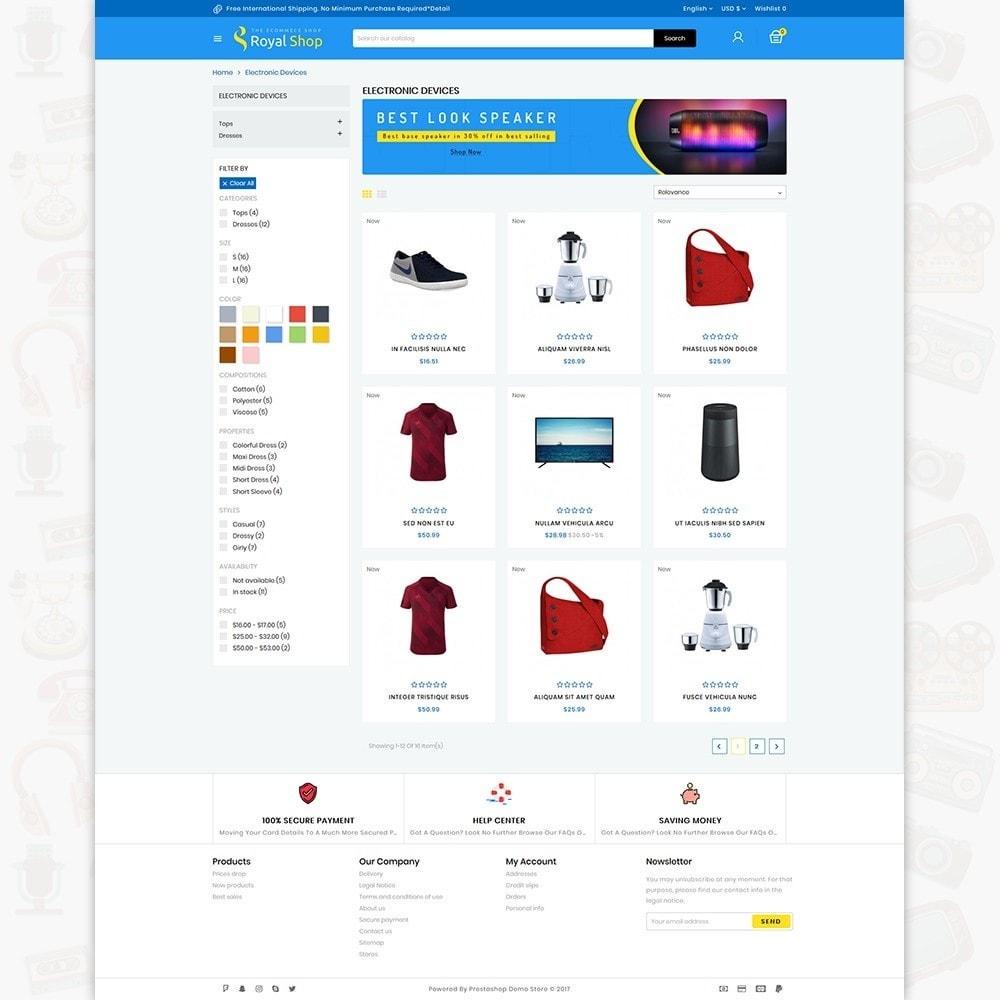 theme - Elektronik & High Tech - Royal Shop - The Ecommerce Shop - 3
