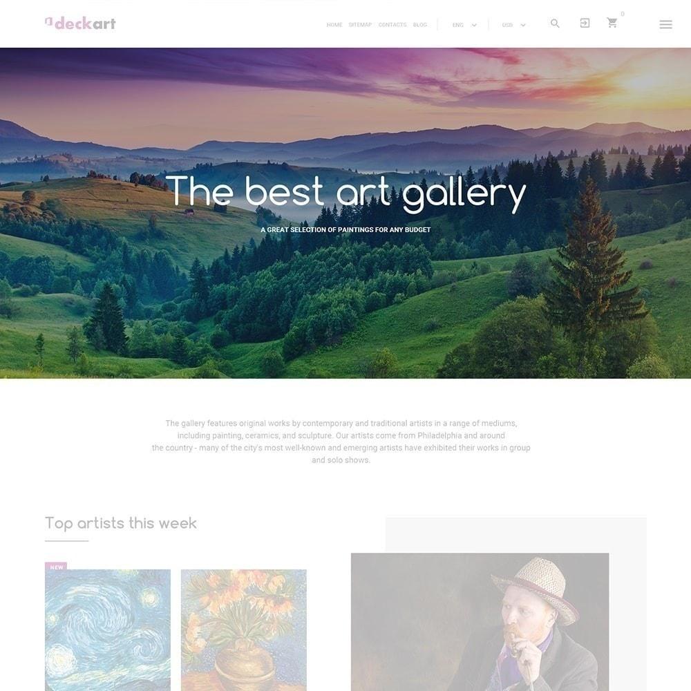theme - Arte & Cultura - DeckArt - 3
