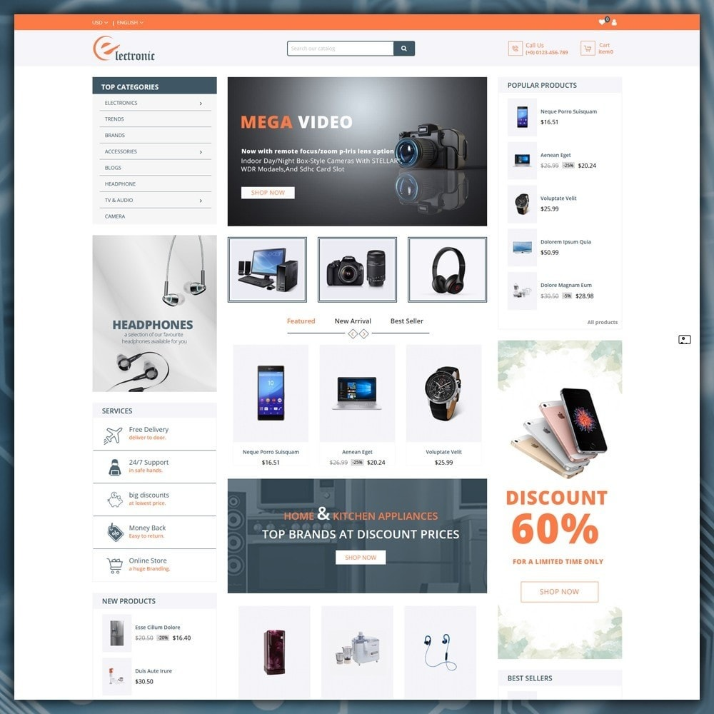 theme - Elektronica & High Tech - Electronics Shop - 2