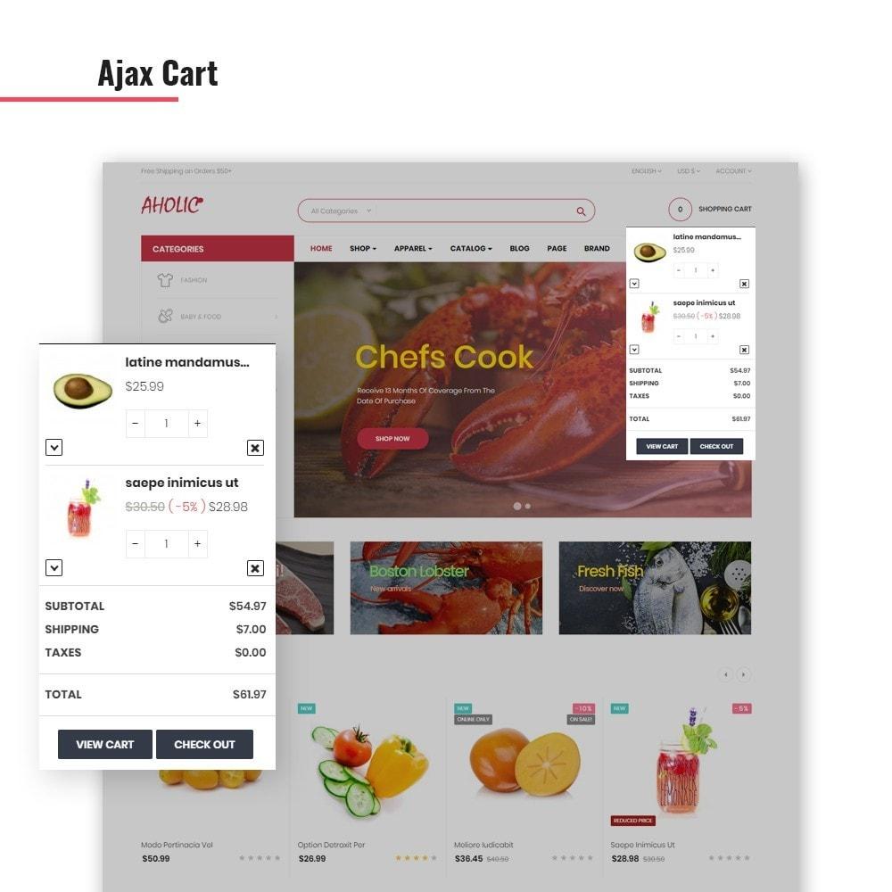 theme - Lebensmittel & Restaurants - Leo Foodaholic - 1