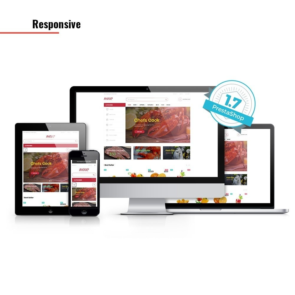 theme - Alimentation & Restauration - Leo Foodaholic - 2