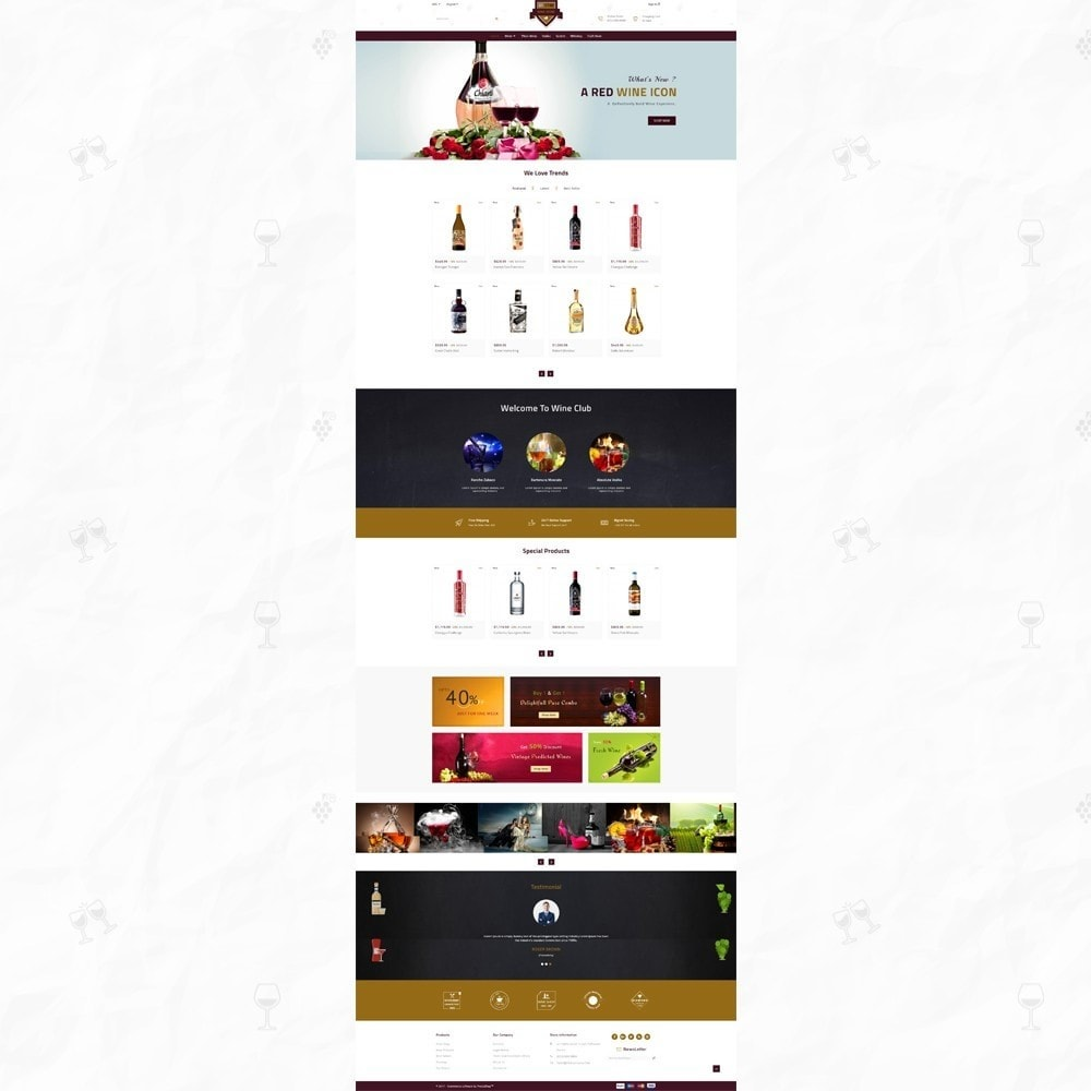 theme - Bebidas & Tabaco - On Star - Wine Store - 2