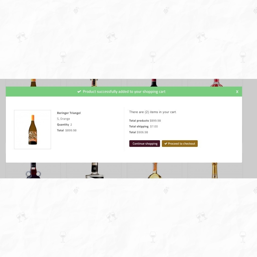 theme - Bebidas & Tabaco - On Star - Wine Store - 7