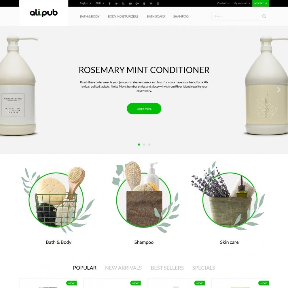 theme - Health & Beauty - Ali-pub Cosmetics - 2