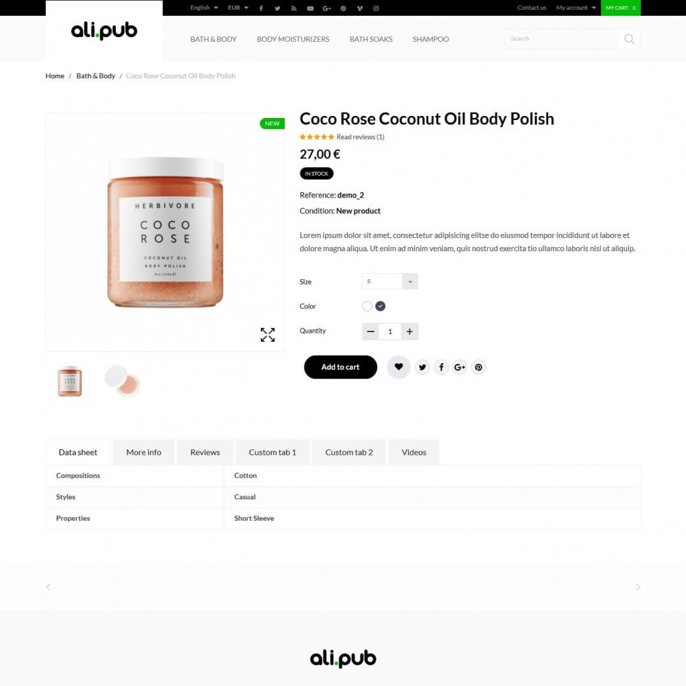 theme - Health & Beauty - Ali-pub Cosmetics - 6