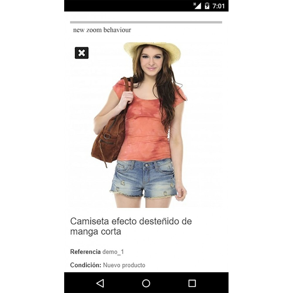 module - Sliders & Galeries - Image slider in a mobile product sheet - 4
