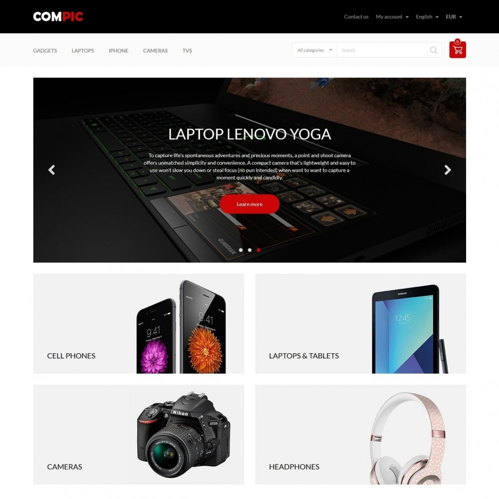 theme - Электроника и компьютеры - Compic - High-tech Shop - 2