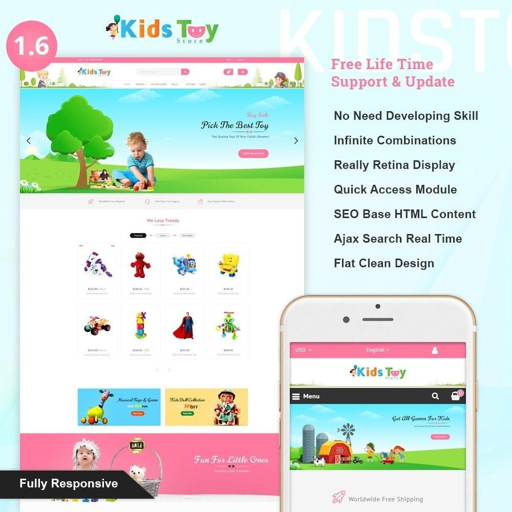 theme - Kinder & Spielzeug - Enjoy - Kids Toy Store - 1
