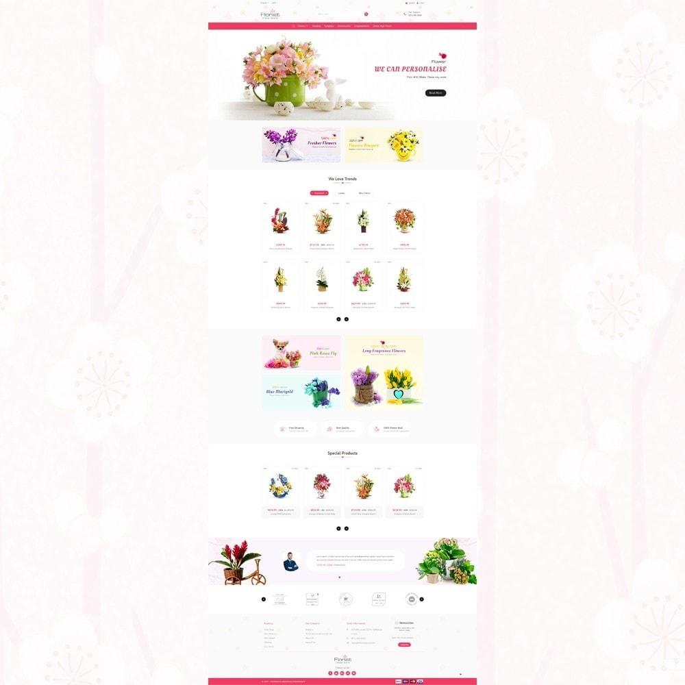 theme - Regalos, Flores y Celebraciones - Florist - Boutique Flower Store - 2