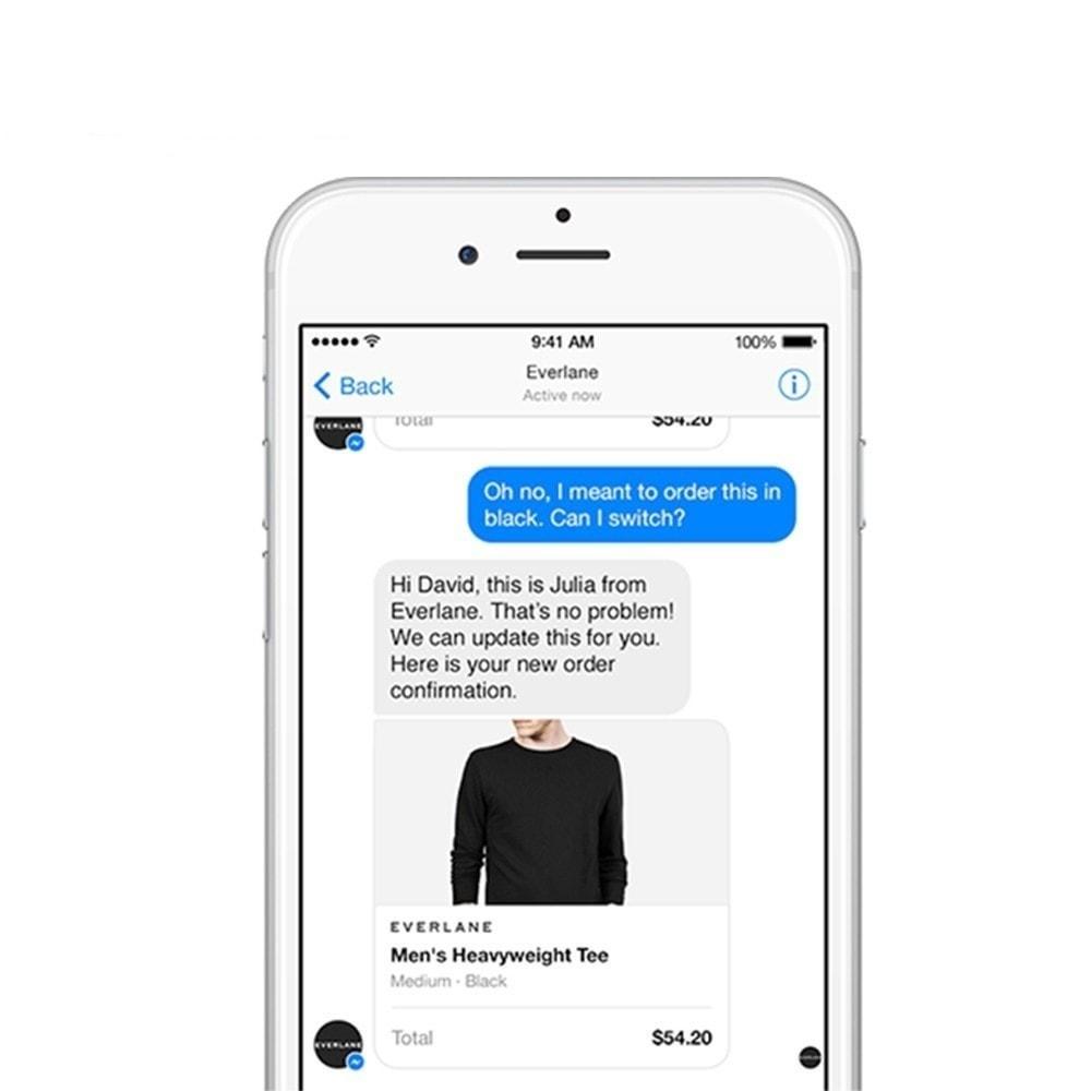 module - Ondersteuning & Online chat - Messenger en chat Bot - 8