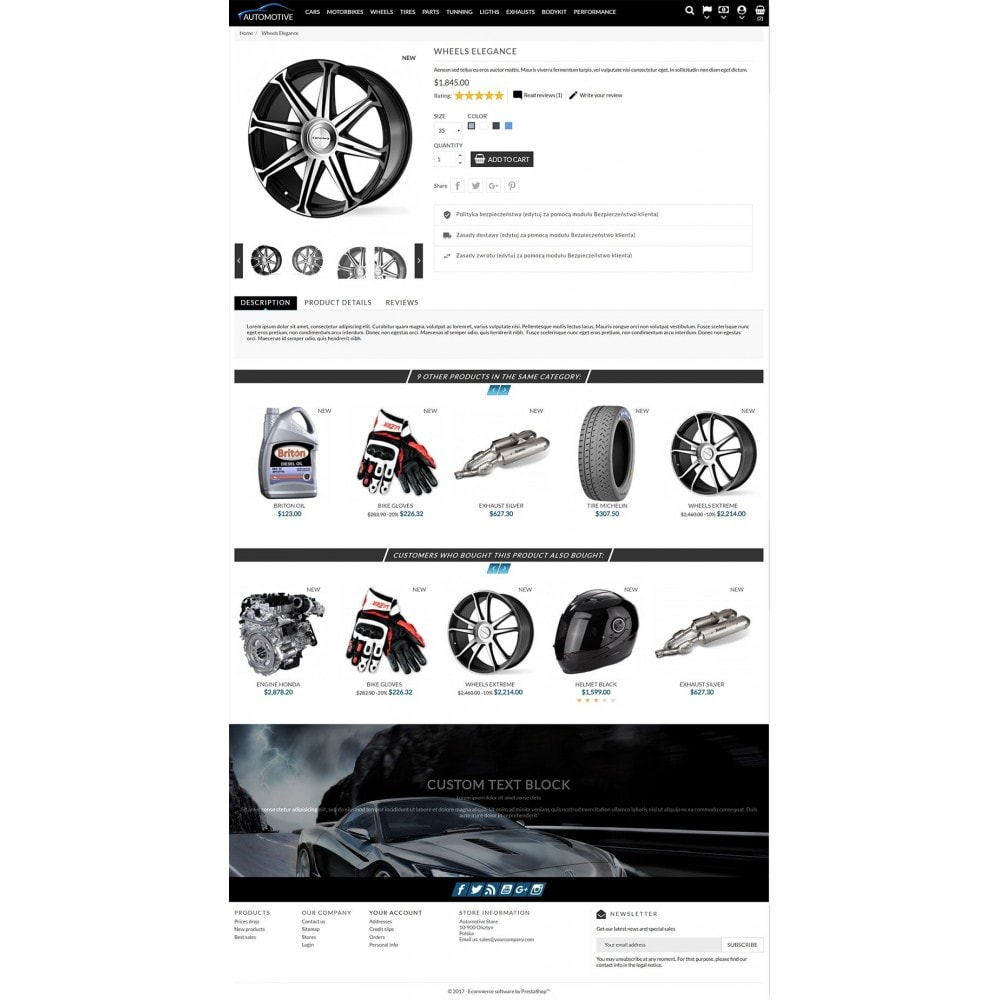theme - Auto's & Motoren - Automotive Store - 3