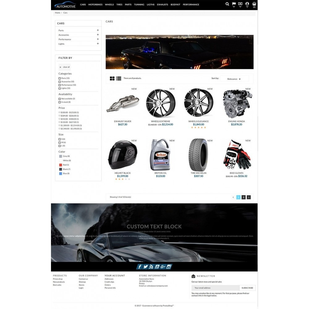 theme - Automotive & Cars - Automotive Store - 4