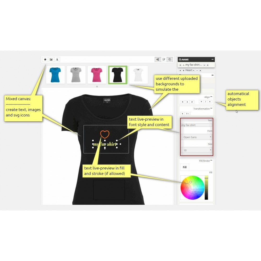 module - Combinations & Product Customization - Advanced Product Customizer - 7