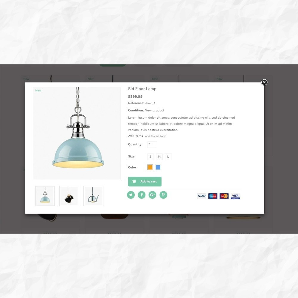 theme - Dom & Ogród - Moon Light Decor Shop - 6