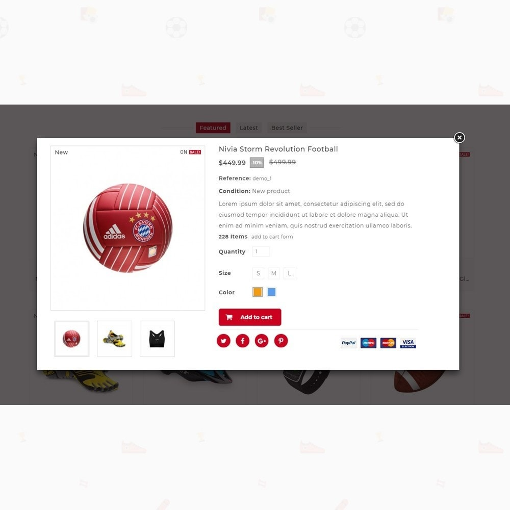 theme - Sports, Activities & Travel - Rubals - Sports Club Store - 6