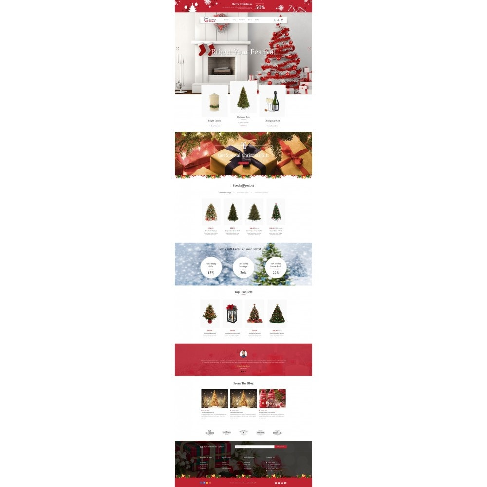 theme - Gifts, Flowers & Celebrations - Merry XMAS - Gifts & Flowers Store - 2