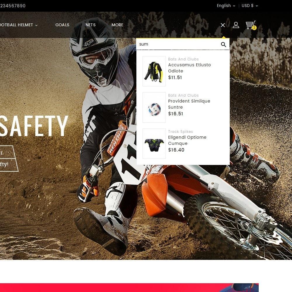 theme - Desporto, Actividades & Viagens - Sports Store - 9