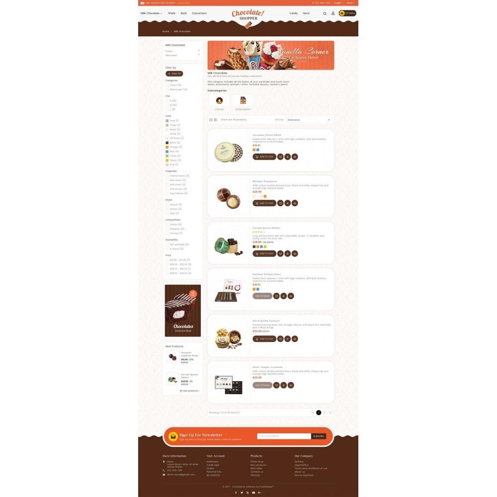 theme - Cadeaus, Bloemen & Gelegenheden - Chocolate Cream - 4