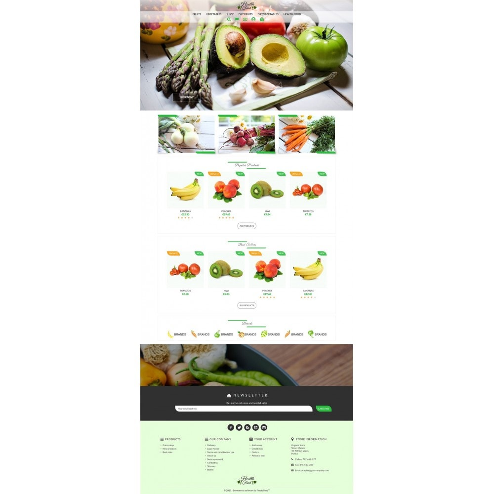 theme - Lebensmittel & Restaurants - Healthy Food - 2