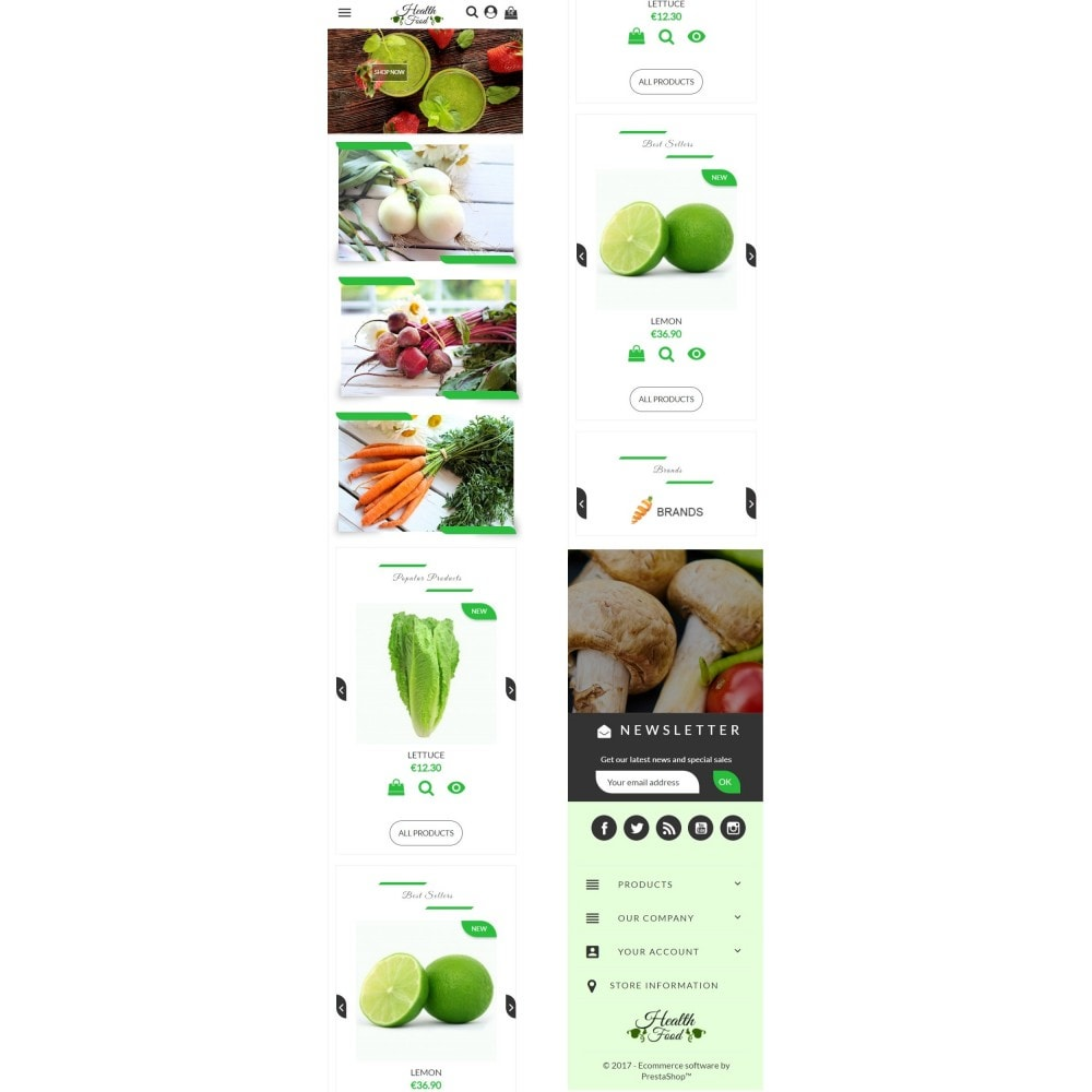 theme - Lebensmittel & Restaurants - Healthy Food - 6