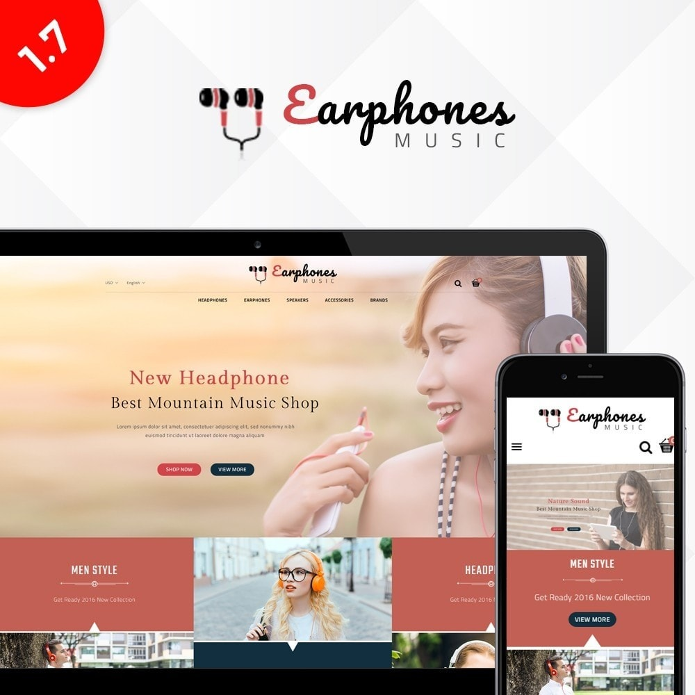 theme - Elettronica & High Tech - Earphones Store - 1