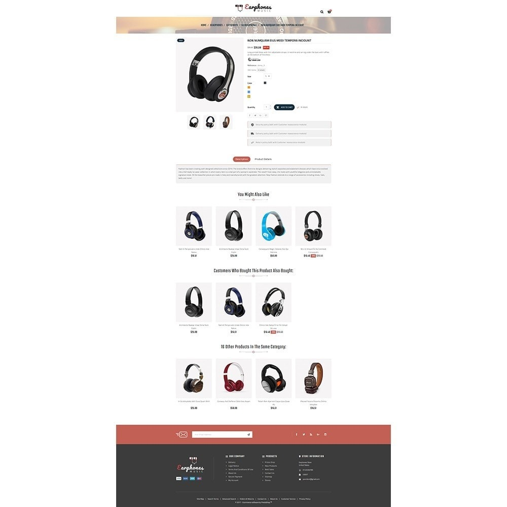 theme - Elettronica & High Tech - Earphones Store - 5