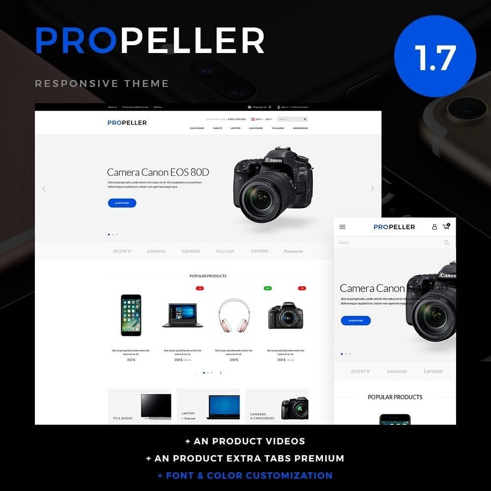theme - Electronics & Computers - Propeller - High-tech Shop - 1