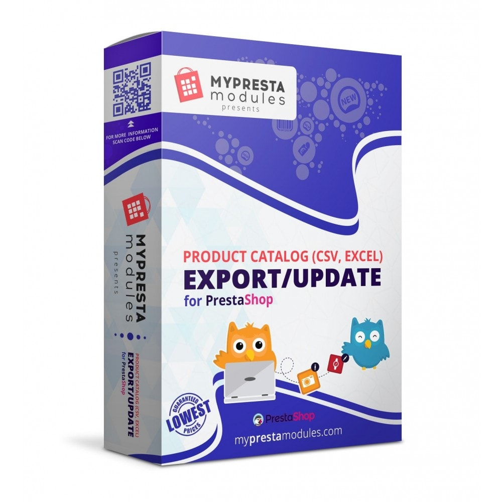 module - Импорт и Экспорт данных - Product Catalog (CSV, Excel) Export/Update - 1