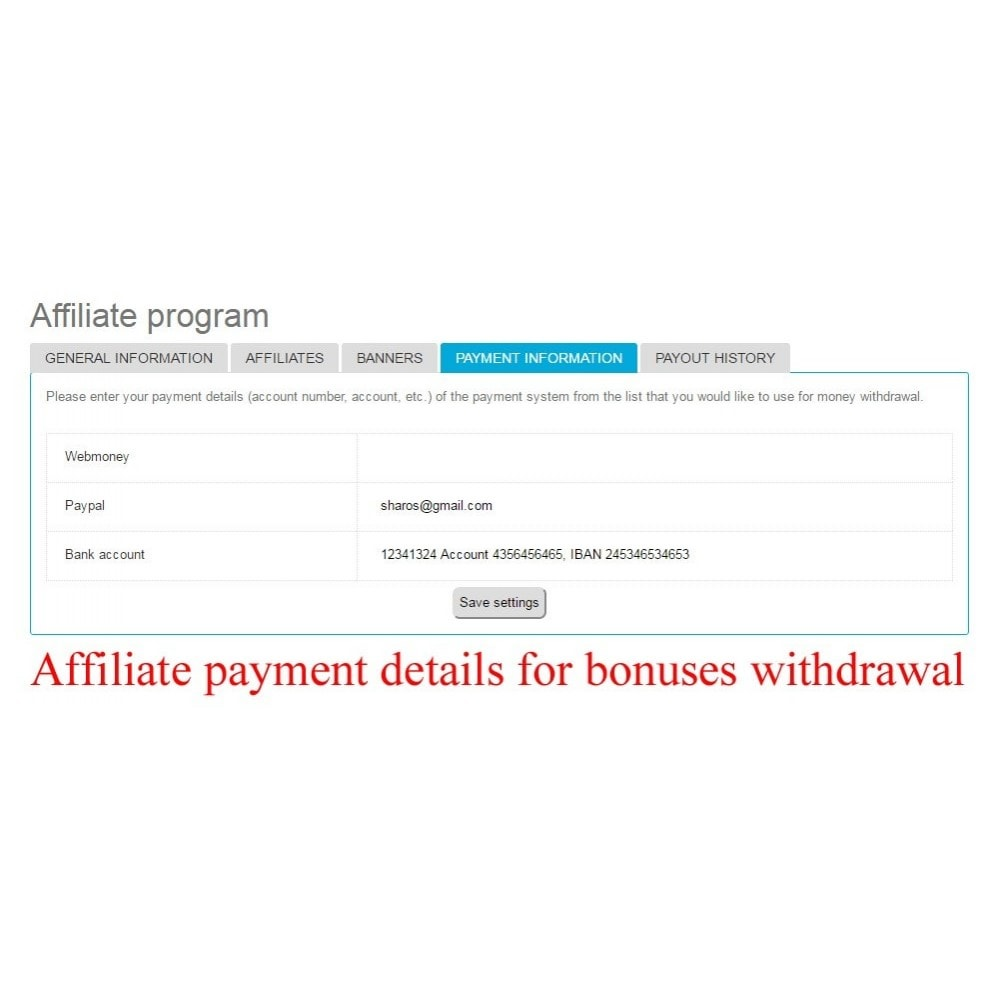 bundle - Lojalność & Rekomendowanie - Extended Affiliate Program RefPRO+User internal balance - 22