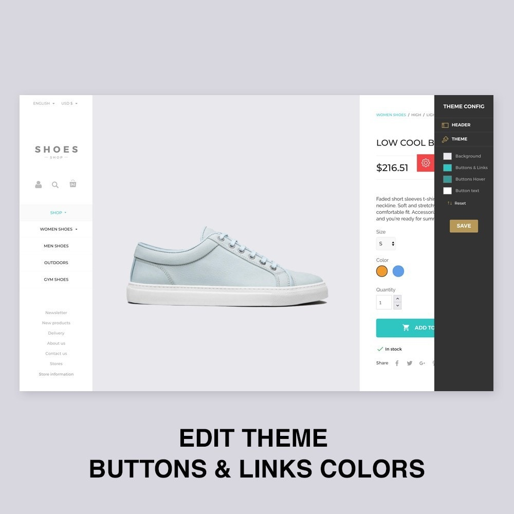 theme - Mode & Schoenen - Configurable Shoes Theme - 5