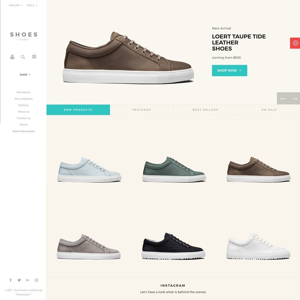 theme - Мода и обувь - Configurable Shoes Theme - 7