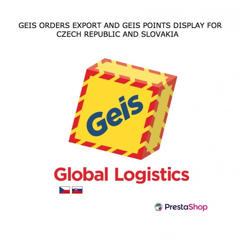 module - Collection Points & In-Store Pick Up - Geis Orders Export and Geis Points Display to CZ and SK - 1