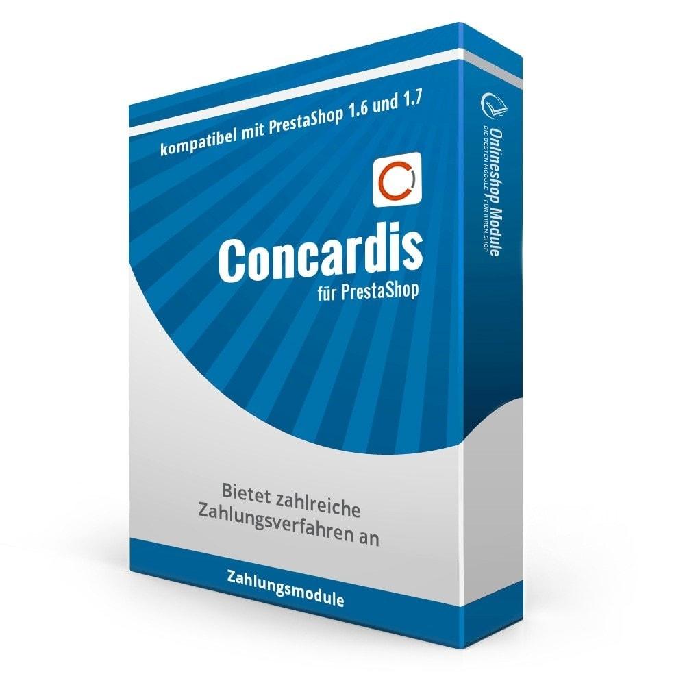 module - Zahlung per Kreditkarte oder Wallet - Concardis Payengine (start.now, speed.up, flex.pro) - 1