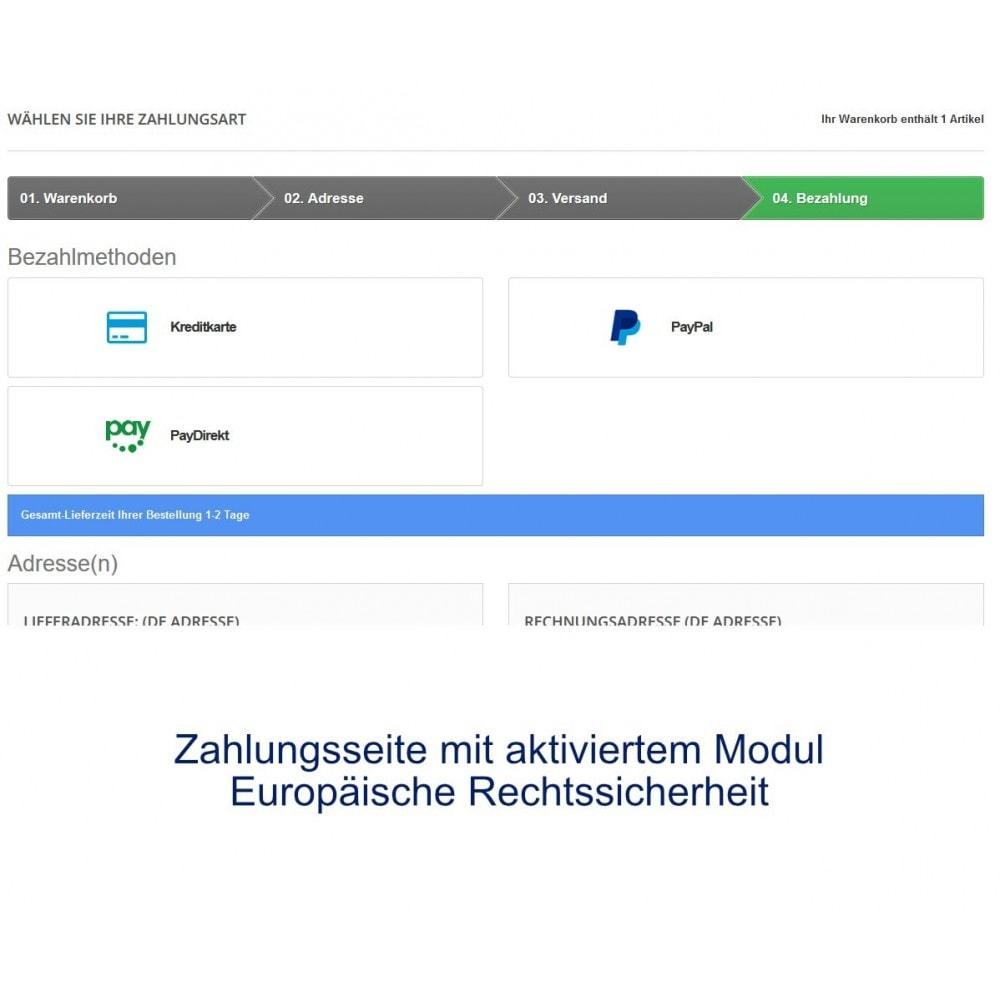 module - Zahlung per Kreditkarte oder Wallet - Concardis Payengine (start.now, speed.up, flex.pro) - 5