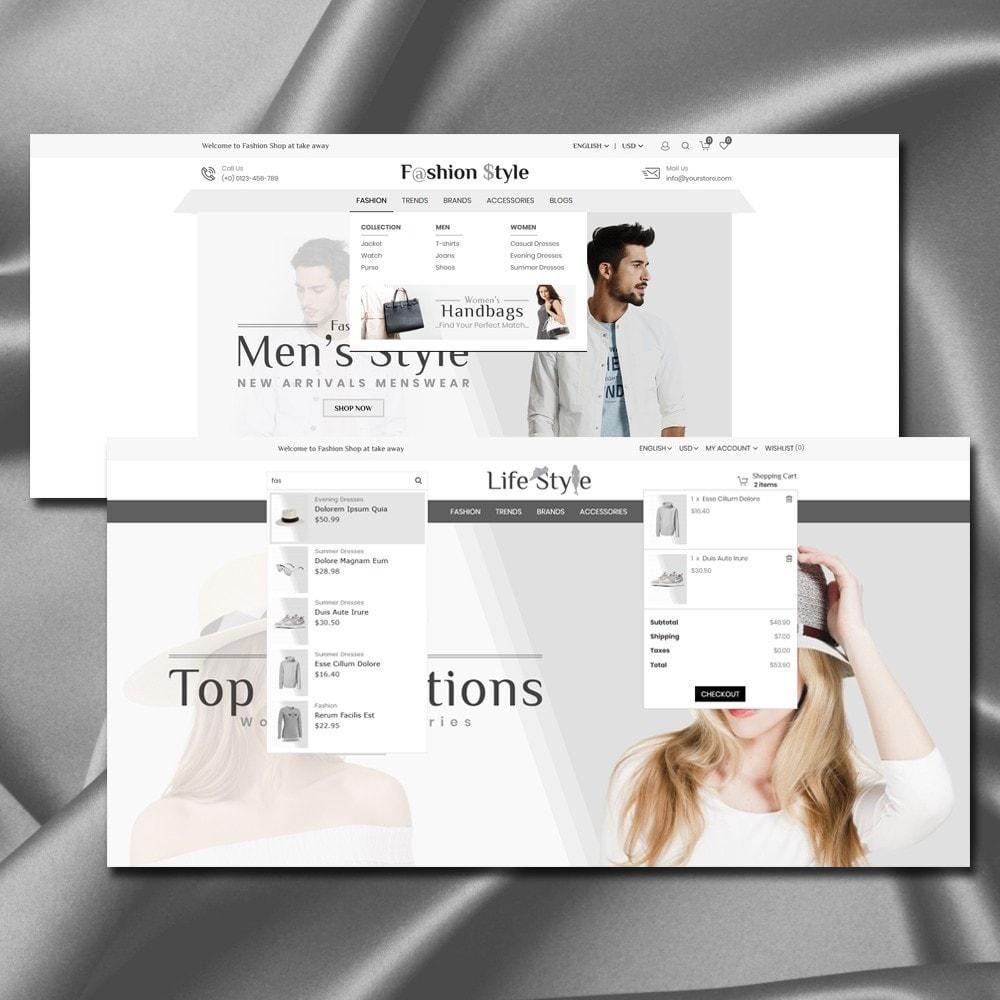 theme - Moda & Obuwie - Life Style Store - 3