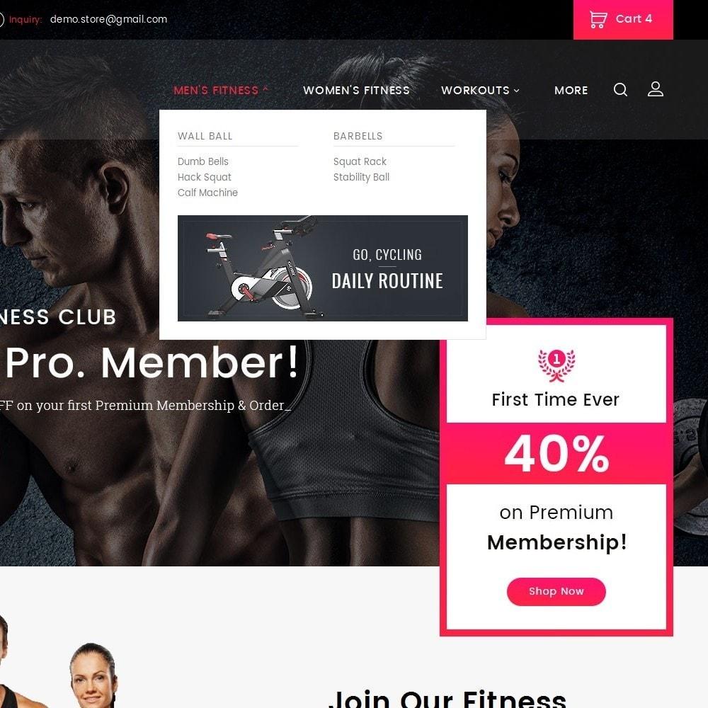 theme - Sport, Loisirs & Voyage - Gym Equipment Store - 9