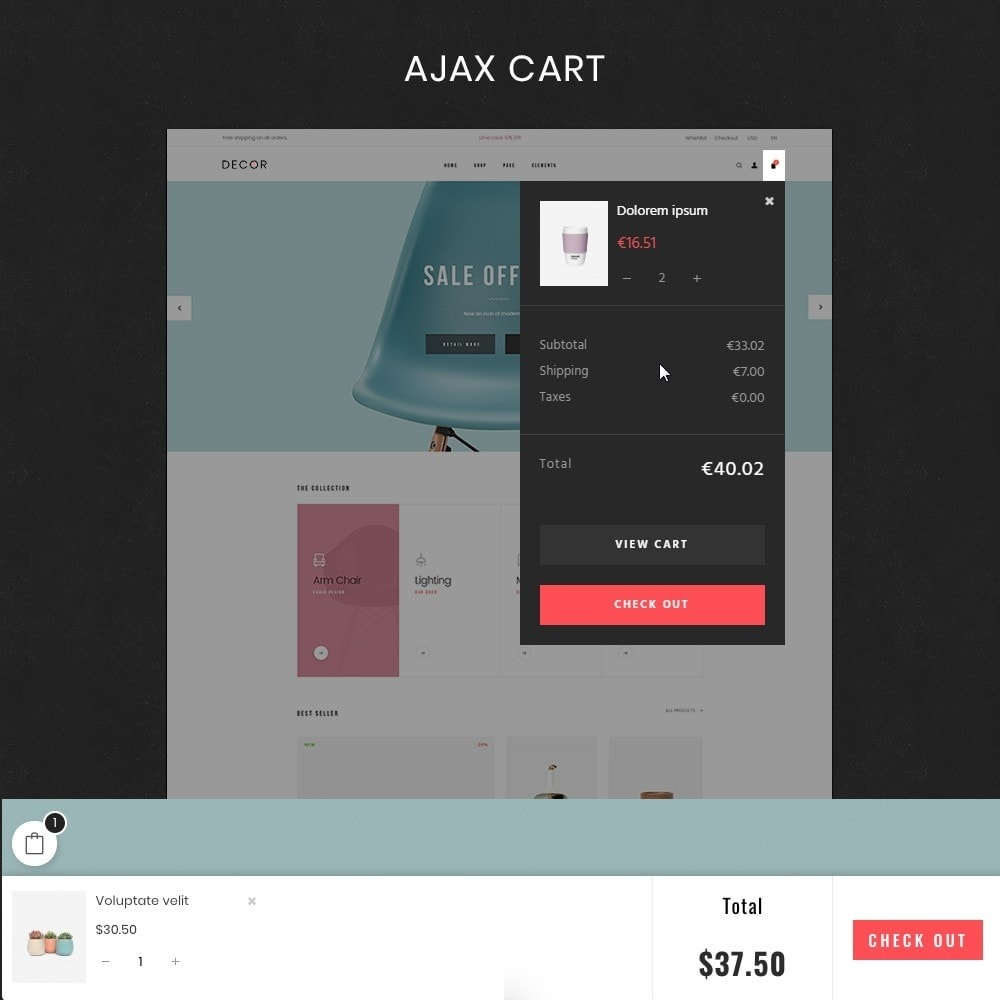 theme - Arte e Cultura - Decor Store Responsive Multiple Prestashop Theme 1.7 - 4