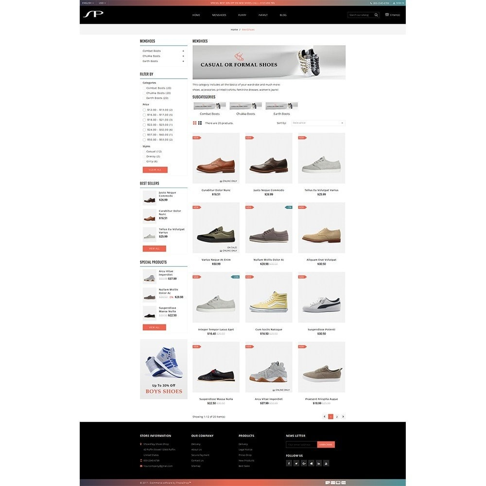 theme - Mode & Chaussures - ShoesPlay Shoes Shop - 3