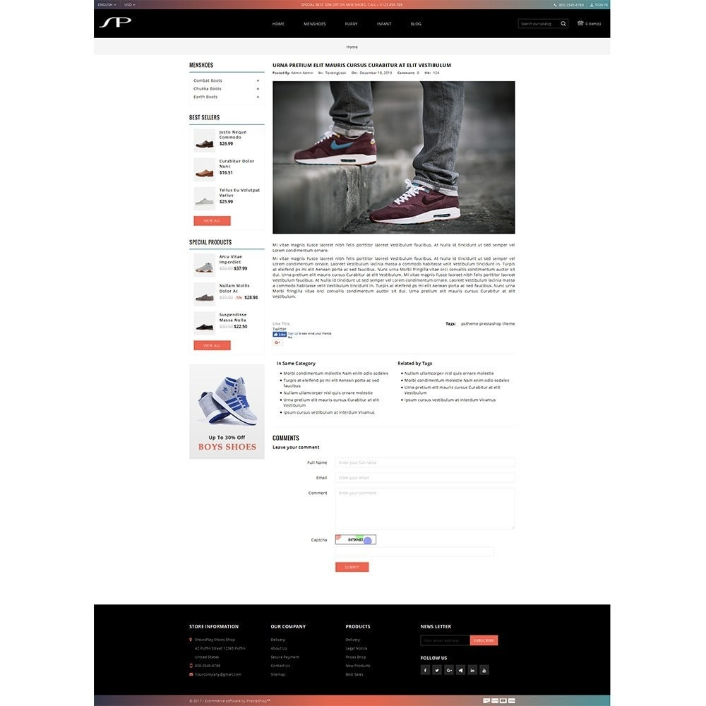 theme - Mode & Chaussures - ShoesPlay Shoes Shop - 8