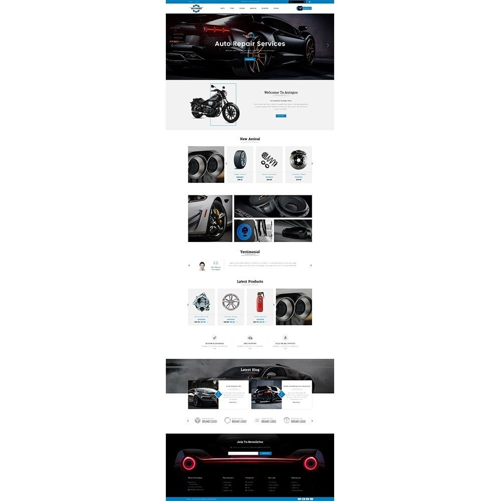 theme - Automotive & Cars - Autopro Store - 2