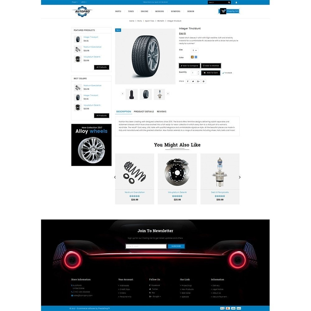 theme - Automotive & Cars - Autopro Store - 5