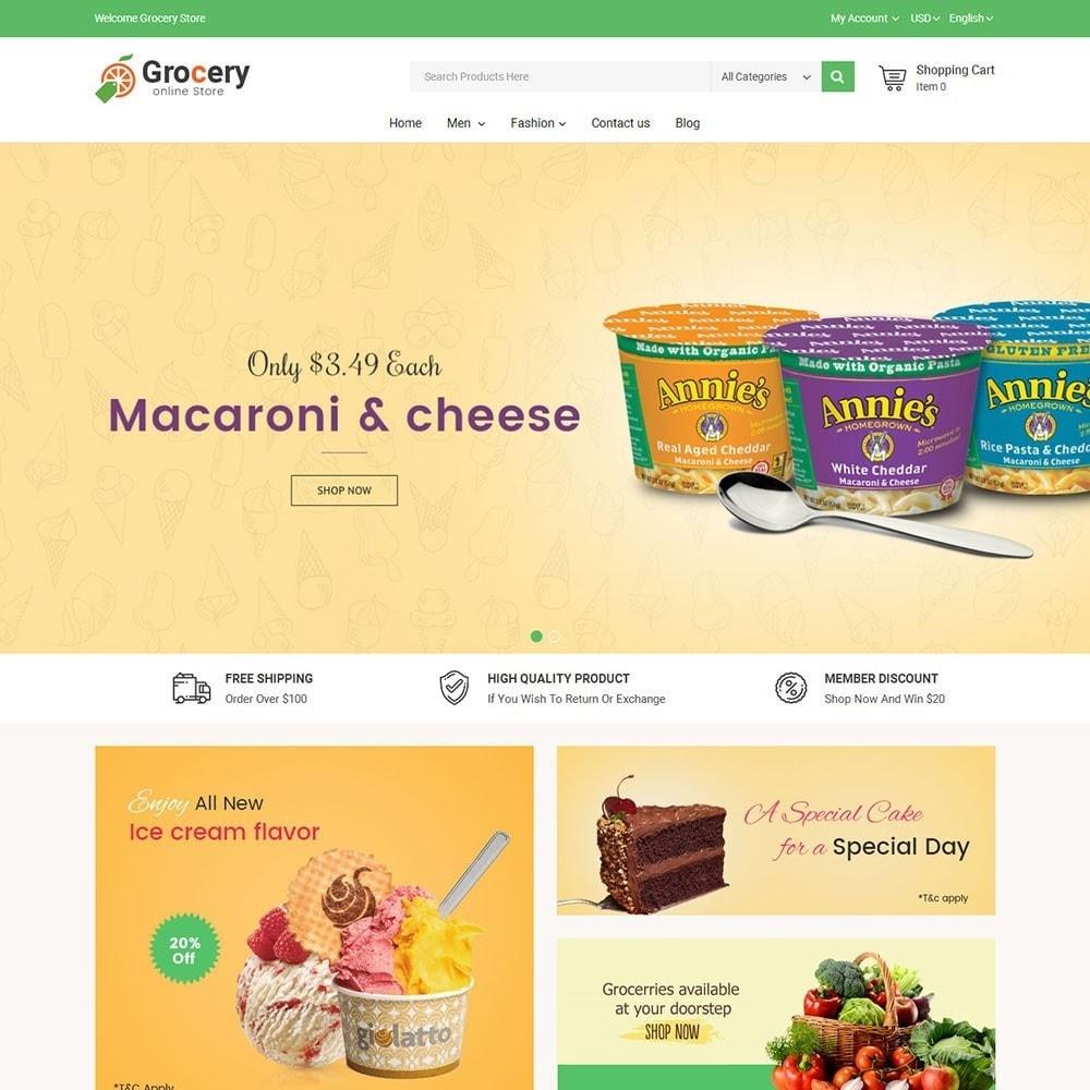 theme - Alimentation & Restauration - Online Grocery Store - 2