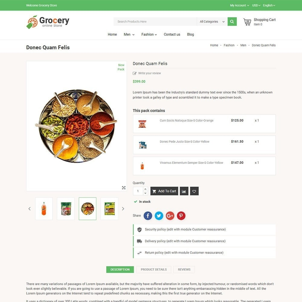 theme - Food & Restaurant - Online Grocery Store - 5