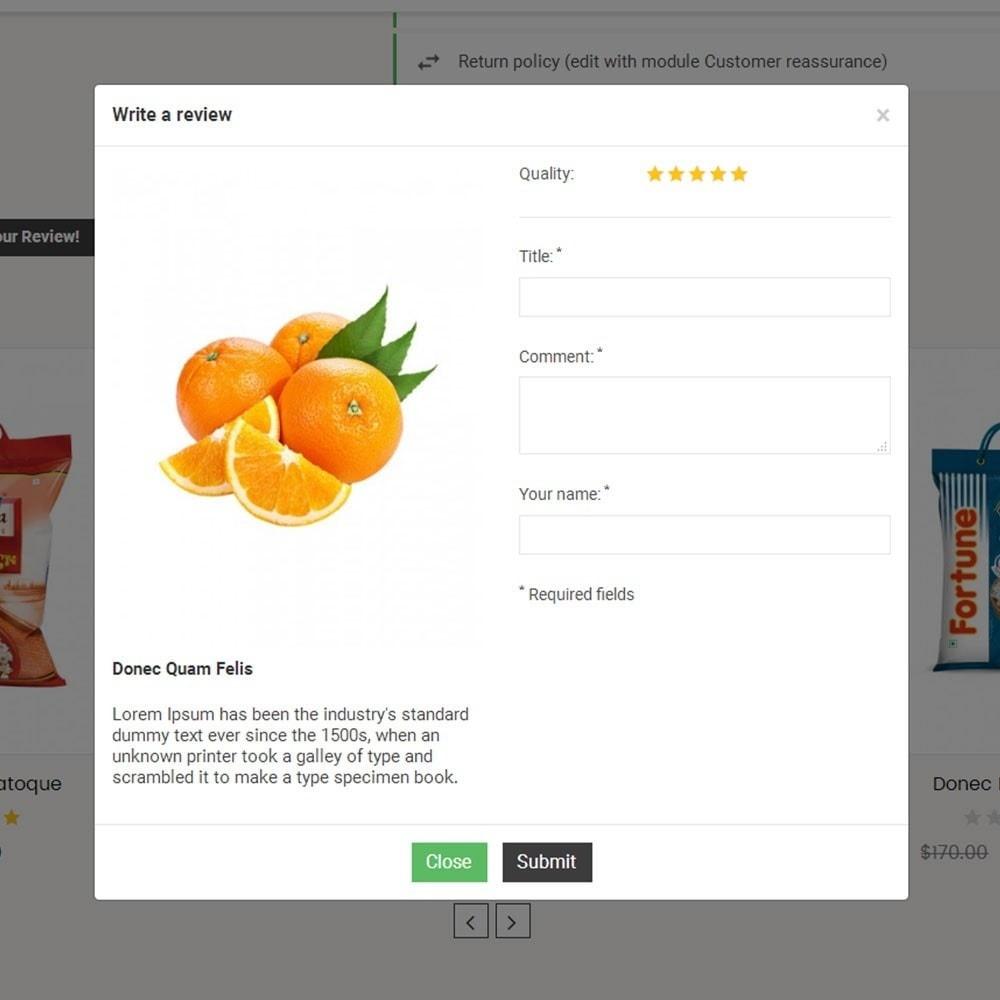 theme - Lebensmittel & Restaurants - Online Grocery Store - 6