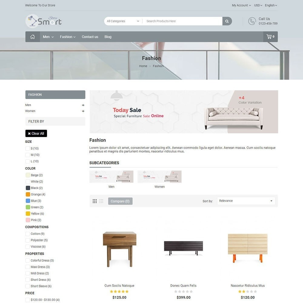 theme - Home & Garden - Furniture Smart Store - 4