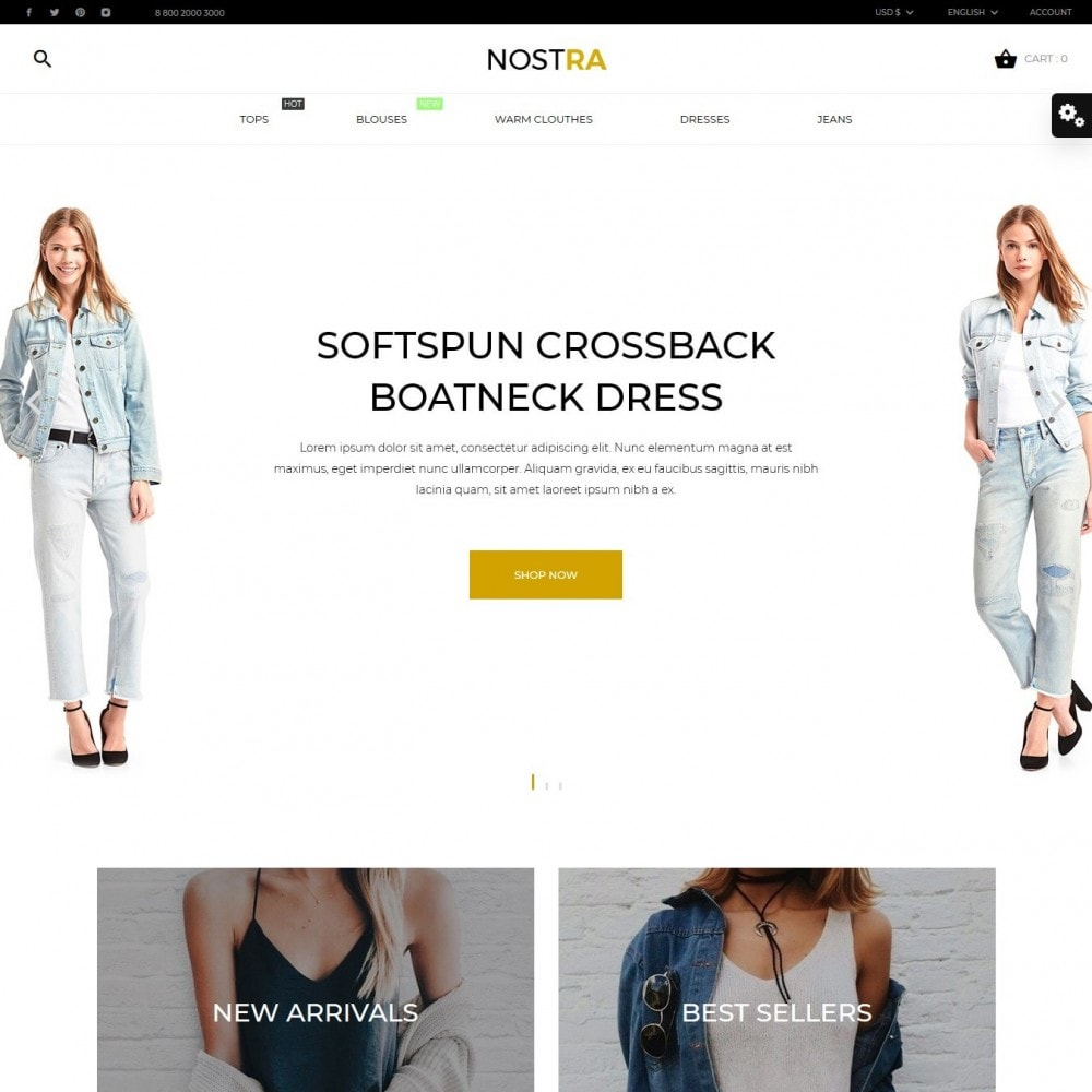 theme - Mode & Schoenen - Nostra Fashion Store - 2